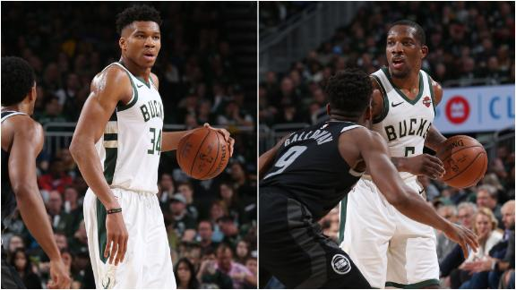 Giannis, Bledsoe go off in Game 2 win