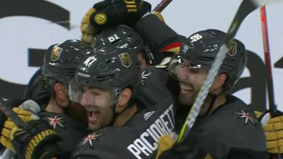 727eb7a5bd4 Pacioretty nets one of Golden Knights  5 goals in shutout
