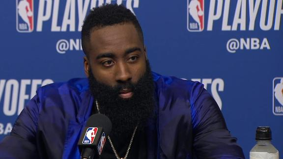 Harden: Been playing MVP basketball for years