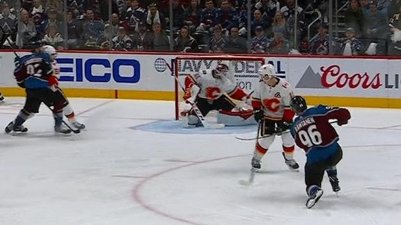 Rantanen scores tying and OT goals in Avs' win