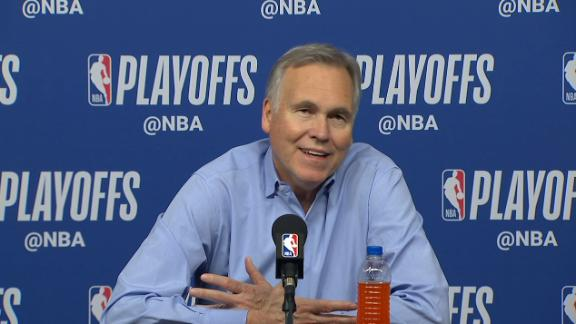 D'Antoni on Harden: 'He's a machine, he just scores'