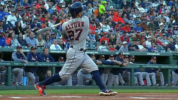 Altuve, Bregman smack back-to-back HRs in 7-2 win