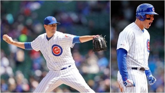Hendricks strikes out 11 in Cubs' win