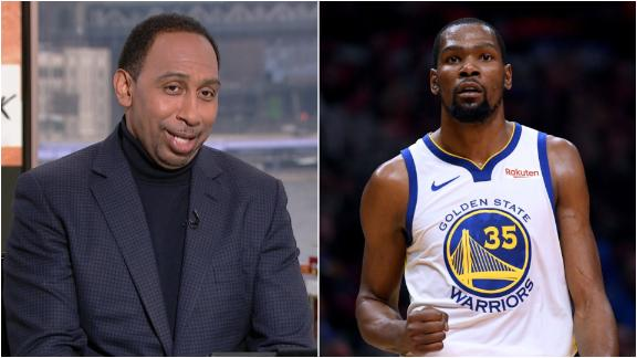 Stephen A.: Durant was on another level