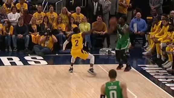 Horford, Brown go back-to-back from 3
