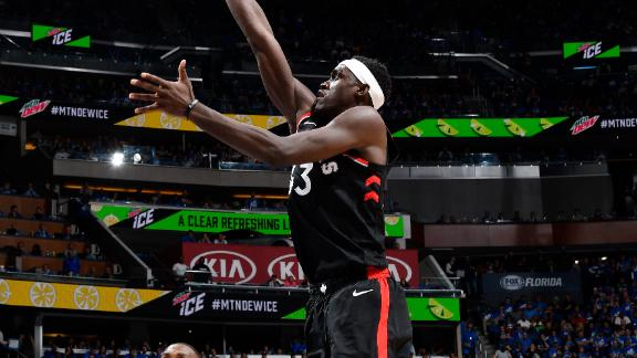 Siakam scores playoff career-high 30 in Game 3 win