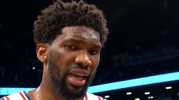 Embiid on Dudley: 'He's a nobody'