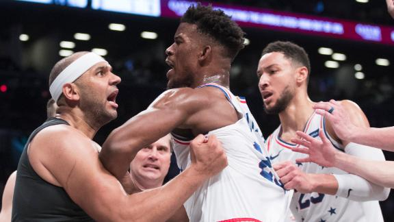 Bad blood between 76ers and Nets continues to brew
