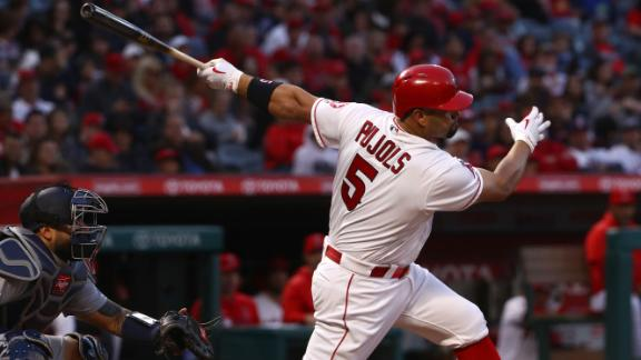 Pujols passes Babe Ruth in RBIs