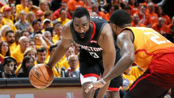 Rockets outlast Jazz to take Game 3