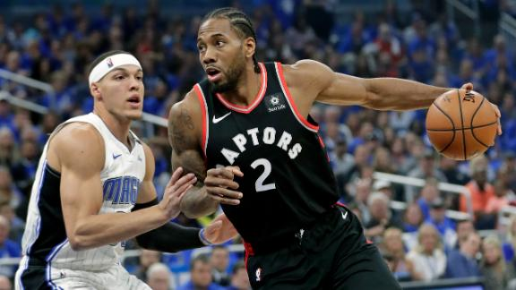 Kawhi drops 34 in Game 4, Raptors go up 3-1