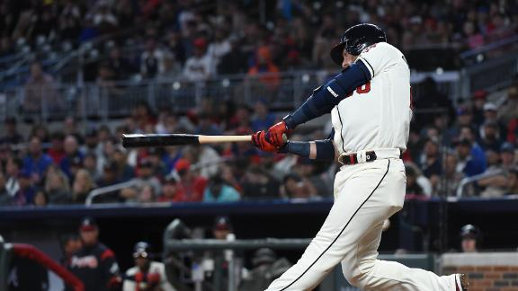 Donaldson homers twice in Braves' blowout win