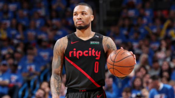 Another big third quarter from Lillard fuels Blazers' win