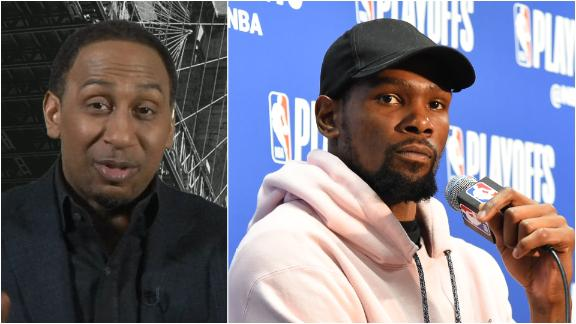Stephen A.: KD can handle anything he wants in NY