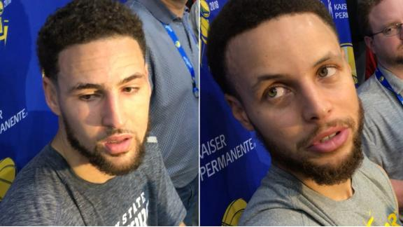Klay, Steph on potential Rockets matchup