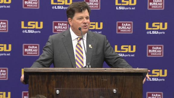 New LSU AD: 'I'm back home'