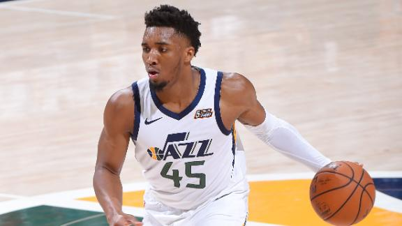 Mitchell's monster fourth quarter keeps Jazz alive