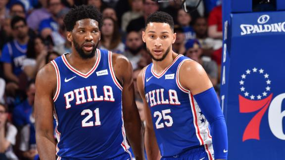 Emiid, 76ers dominate to eliminate Nets