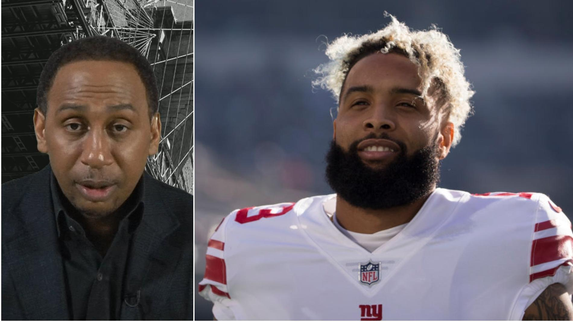 Stephen A.: Gettleman's OBJ comments were 'childish'
