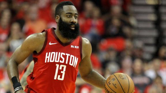 Harden scores 26 points to close out series vs. Jazz