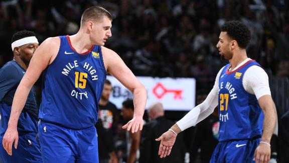 Jokic and Murray go off in Nuggets' big win