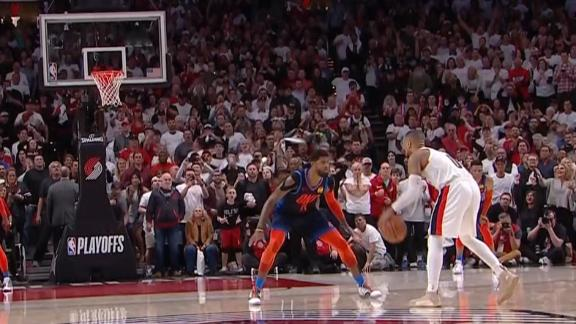 Dame buries Thunder with 37-foot 3