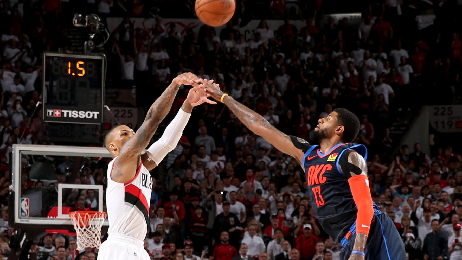 Damian Lillard eliminates Thunder with 37-footer at buzzer