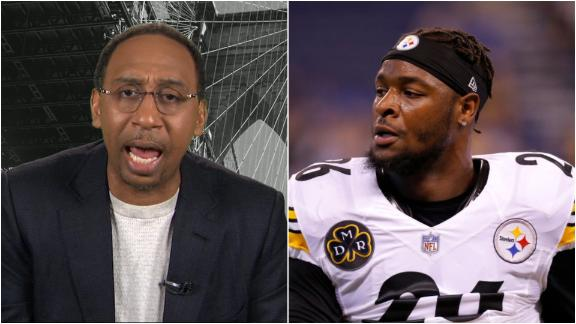 Stephen A. argues Bell's presence 'very much needed' at Jets camp