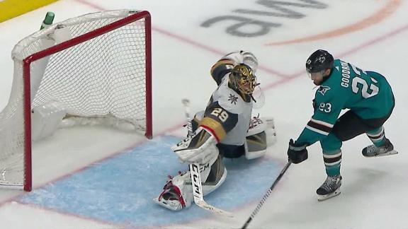 Goodrow's OT goal gives Sharks wild Game 7 victory