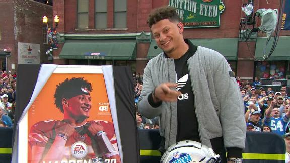 Mahomes graces 'Madden 20' cover