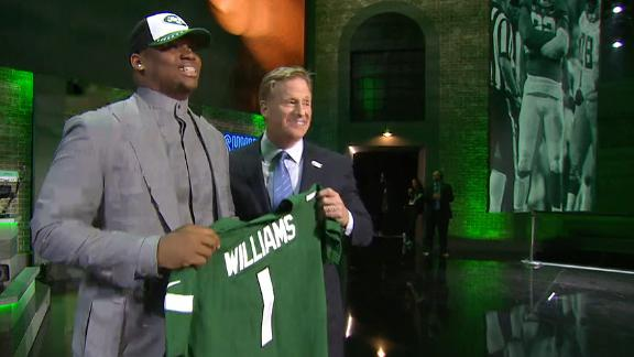 Jets pick Quinnen Williams No. 3 overall