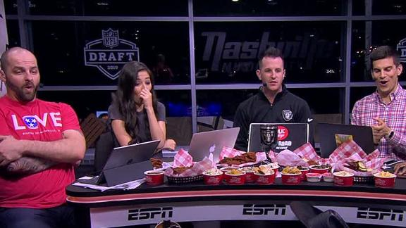 Mina Kimes in shock after Raiders' Clelin Ferrell pick