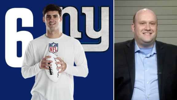 Giants make head-scratching move with Daniel Jones pick