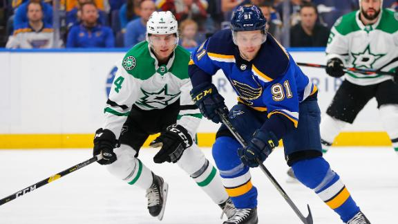 Tarasenko nets 2 goals in Game 1 win vs. Stars