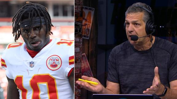 Golic sickened by Tyreek Hill audio: 'At some point, draw the damn line'