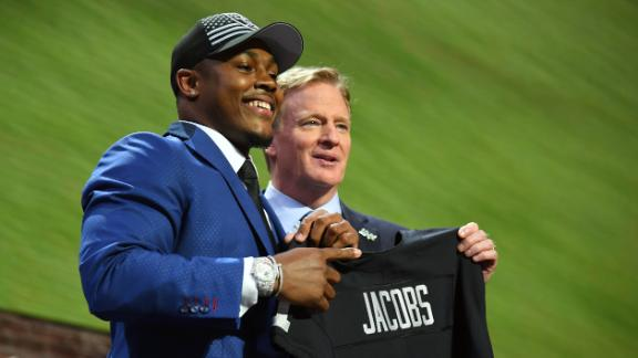 SC Featured: Jacobs' journey from homelessness to 1st-round pick