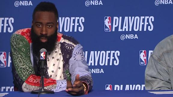 Harden: 'I just want a fair chance'