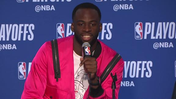Draymond: I've been fouled by Harden on a Harden 3 before