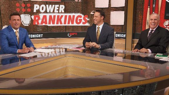Dodgers lead this week's Power Rankings