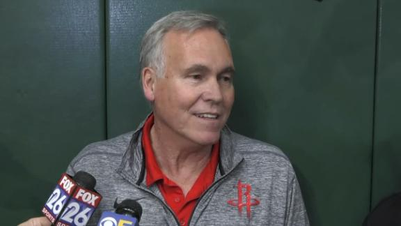 D'Antoni not dwelling on missed calls in Game 1