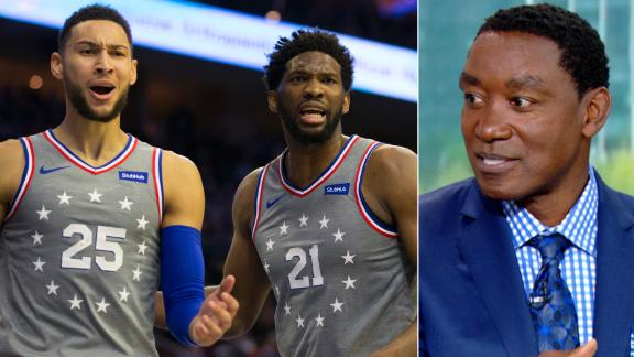 Thomas: Embiid, Simmons have clashing styles of play