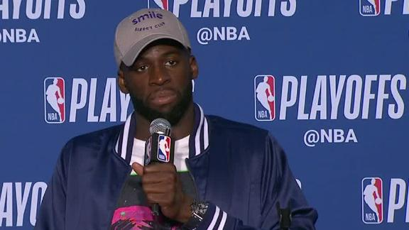 Draymond: Complaining about foul calls is 'embarrassing'