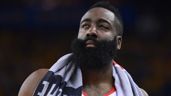 Harden, Rockets squinting at 0-2 deficit
