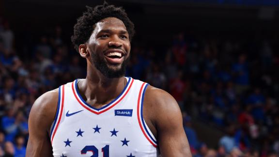 Embiid records double-double and 76ers take series lead