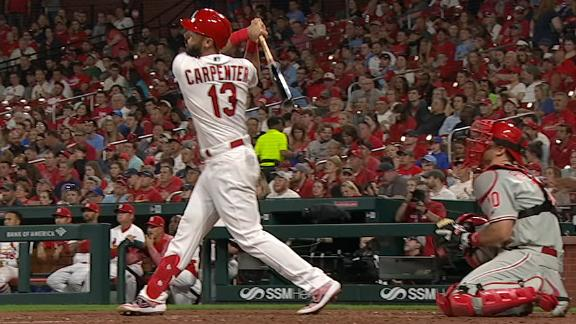 8d35b0948 Cardinals back Mikolas with 3 HRs in 6-0 win over Phillies