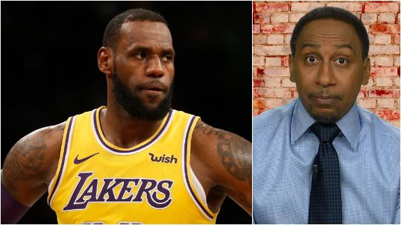 Stephen A. goes off on Lakers' dysfunction