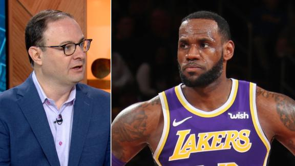 Woj: Lakers' dysfunction protecting LeBron from criticism