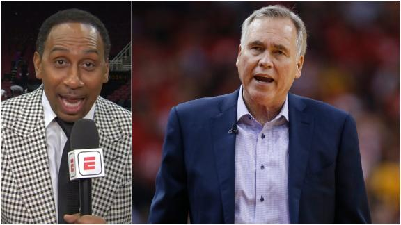 Stephen A critiques Harden, D'Antoni for another playoff loss