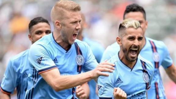 Moralez ends penalty woes, doubles NYCFC's lead