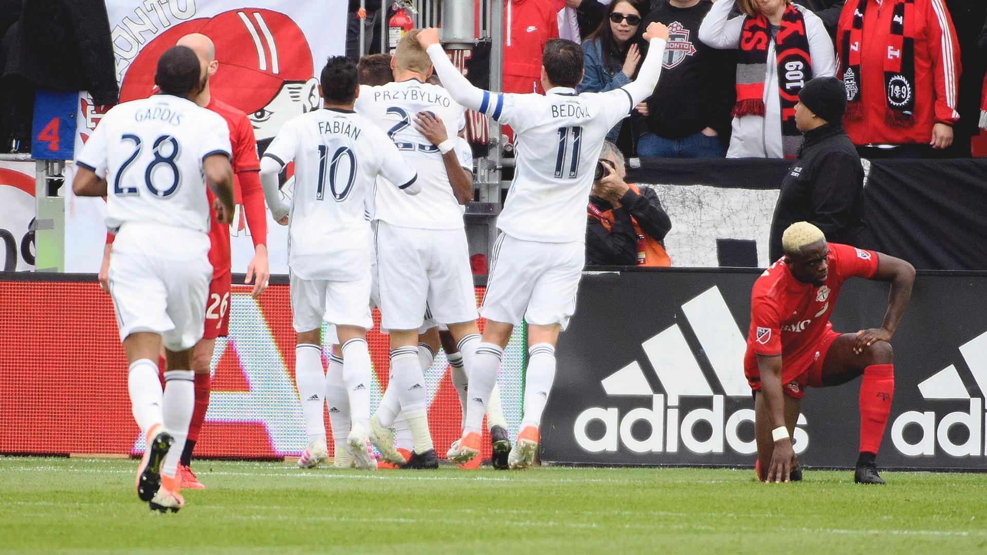 Mavinga own goal gives Philadelphia lead over Toronto